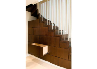 Bespoke staircases, Corian Fabricators, Goodfellows, London & South East